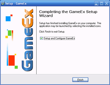 Completion of GameEx Installer